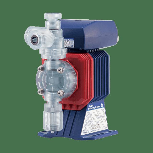 Electromagnetic metering pumps