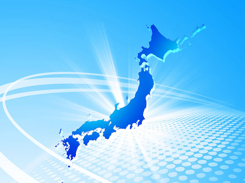 Sales network in Japan that is closely coupled with local regions