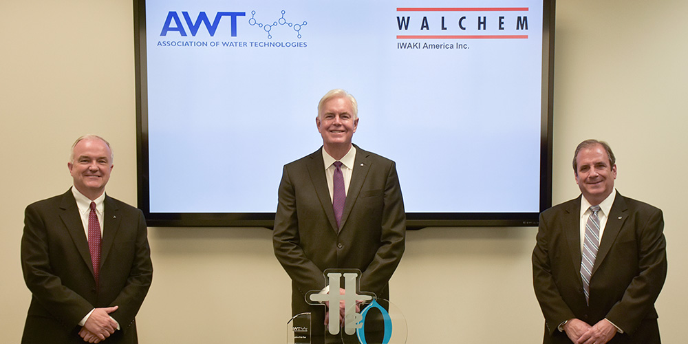 イワキアメリカがAWT「年間サプライヤー賞」を受賞