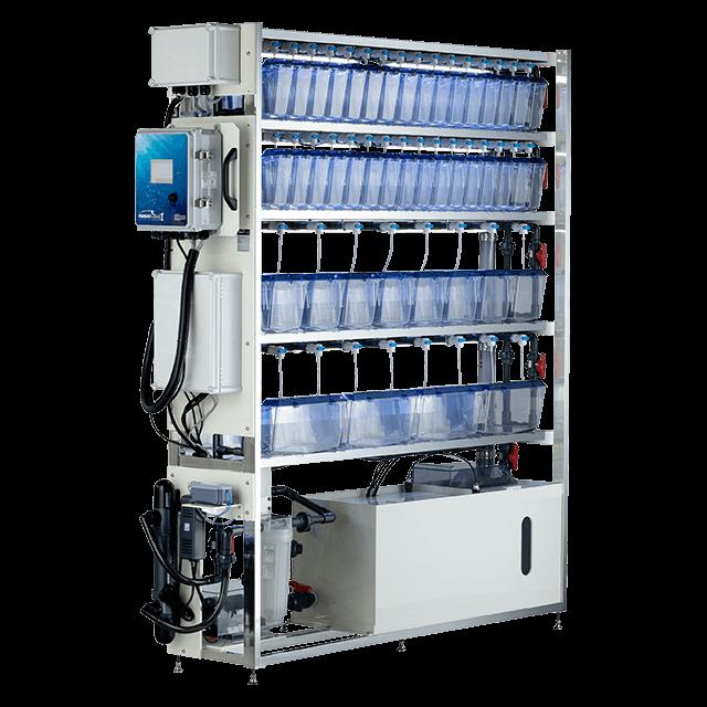 小型魚類集合水槽システム LAbREED ITS-Zシリーズ